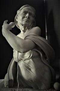 art historian, clay