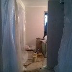 Home renovation -During work